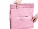 Кофр - органайзер для игрушек и вещей Бамбук розовый фото 3