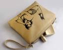 Косметичка с вышивкой Красотка Беж фото 2