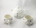Набор для чая Снеговик фото