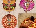 Пляжный коврик Pizza фото 2