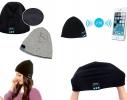 Зимняя шапка со Bluetooth-гарнитурой Серая фото 3