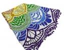 Пляжный коврик Мандала фиолетовый фото 2