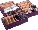 Комплект органайзеров для белья Амаретто 3 шт фото