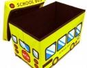 Ящик - пуфик для игрушек Happy Bus фото 3