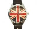 Наручные часы на эксклюзивном ремешке Британский флаг фото