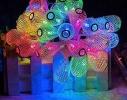 Гирлянда Груша Золото LED 20 мультик фото