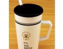 Чашка с крышкой и ложкой Собака фото 2