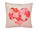 Интерьерная подушка Цветущая любовь фото