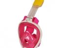 Маска для снорклинга Easybreath розовая фото 3