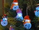 LED-гирлянда Снеговички фото 2