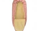 Конверт -кокон меховой Baby XS Розовые звезды фото 1