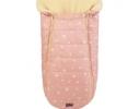 Конверт -кокон меховой Baby XS Розовые звезды фото 2