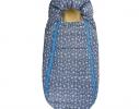 Конверт -кокон меховой Baby XS Голубые звезды фото 4