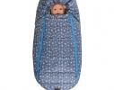 Конверт -кокон меховой Baby XS Голубые звезды фото 2