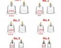 Набор массажных вакуумных банок с насосом 10 шт/компл фото 1