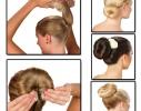 Валик - заколка для волос Hot Buns фото 2
