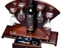 Мини - бар с приборами Сомелье + бокалы фото