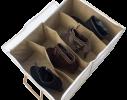 Органайзер для обуви на 4 пары бежевый фото