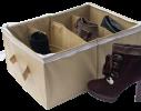 Органайзер для обуви на 4 пары бежевый фото 1