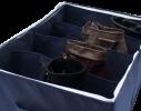 Органайзер для обуви на 4 секции Джинс фото 3