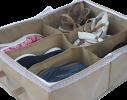 Органайзер для обуви на 6 пар бежевый фото 1