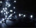 Гирлянда светодиодная LED 300 с черным проводом фото 3