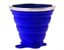 Складной стакан VERTO силиконовый, 260 мл Синий фото