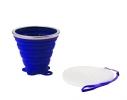 Складной стакан VERTO силиконовый, 260 мл Синий фото 1