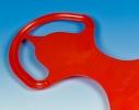 Санки - ледянка Лопатка большая красная Marmat фото 1