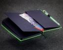 Блокнот с черной бумагой Лазурный мини фото 3