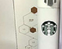 Стильный термос Starbucks White фото 3