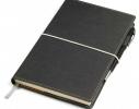 Бизнес-блокнот с ручкой Business Серый