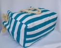 Пляжная текстильная сумка с морским принтом фото 1