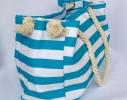 Пляжная текстильная сумка с морским принтом фото 2