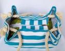 Пляжная текстильная сумка с морским принтом фото 3
