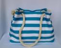 Пляжная текстильная сумка с морским принтом фото 4