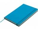 Блокнот на резинке Kiel Голубой