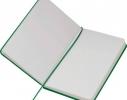 Блокнот на резинке Lubeck Зеленый