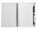 Блокнот для записей с ручкой фото 1