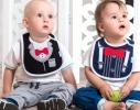 Детский 3-х слойный слюнявчик, купить, цена, отзывы, фото 4