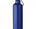 Алюминивая бутылка с карабином, 770мл Синяя