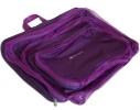 Дорожные сумки-органайзеры в чемодан ORGANIZE фиолетовые 5 шт, купить, цена, фото 1