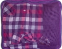 Дорожные сумки-органайзеры в чемодан ORGANIZE фиолетовые 5 шт, купить, цена, фото 7