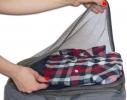 Дорожные сумки-органайзеры в чемодан ORGANIZE серые 5 шт, купить, цена, фото 4