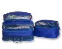 Дорожные сумки-органайзеры в чемодан ORGANIZE синие 5 шт, купить, цена, фото