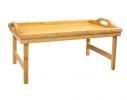 Бамбуковый столик для завтрака фото 2