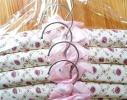 Клонировать Набор мягких вешалок Винтажные розы фото 2
