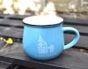 Чашка кувшин Zakka City голубая фото