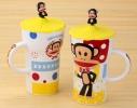 Чашка Обезьяна Paul Frank, 650мл фото