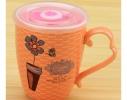 Чашка с крышкой-таймером